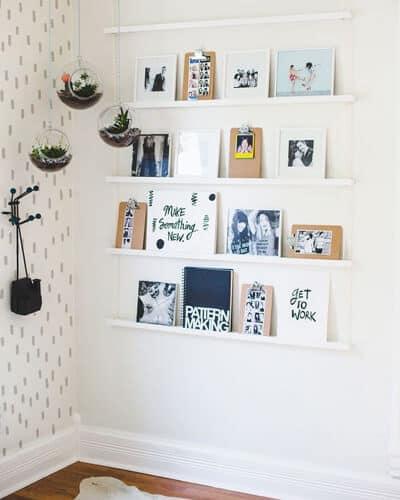 Versier je muur met leuke kaarten en prints