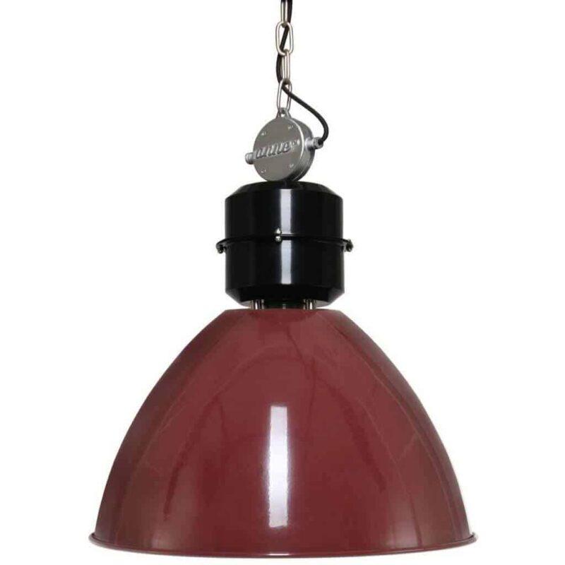 Hanglamp Anne Lighting Frisk Rood | Stoere en unieke hanglamp voor in elk industrieel interieur | #fabriekslamp #interieur #stoer | www.homeseeds.nl