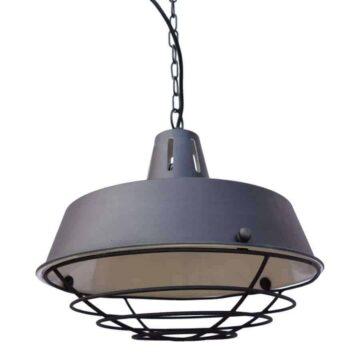 Hanglamp prison vintage van urban interiors zwarte stoere industriële lamp verlichting