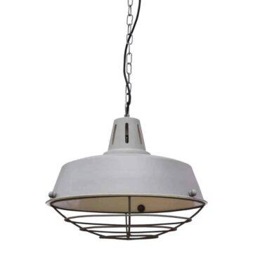 Hanglamp prison grijs vintage van urban interiors