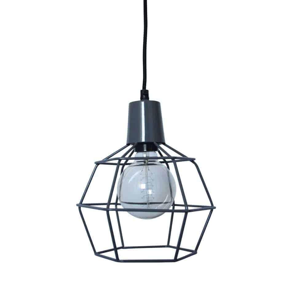 draadlamp Wire grijs van Urban Interiors   Hanglamp   Hanglampen Verlichting   www.homeseeds.nl