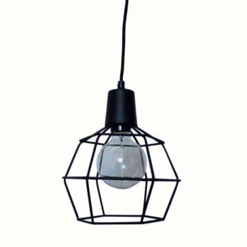 draadlamp Wire zwart van Urban Interiors   Hanglamp   Hanglampen Verlichting   www.homeseeds.nl