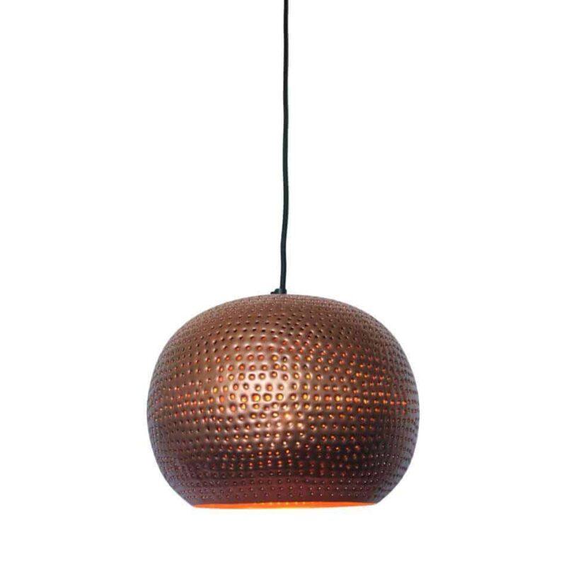 Hanglamp Spike bol ni koper kleur van Urban Interiors | www.homeseeds.nl