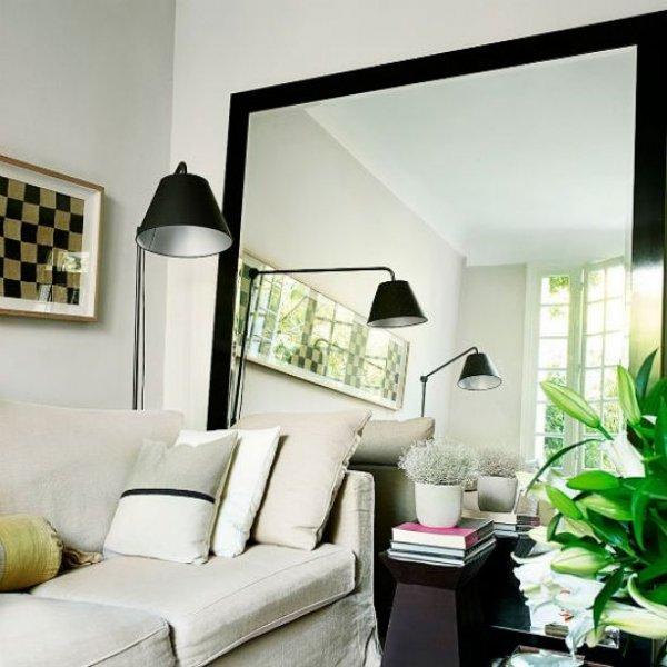 Maak gebruik van spiegels om een ruimte groter te laten lijken | www.homeseeds.nl
