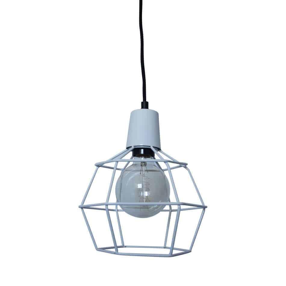 draadlamp Wire Wit van Urban Interiors   Hanglamp   Hanglampen Verlichting   www.homeseeds.nl