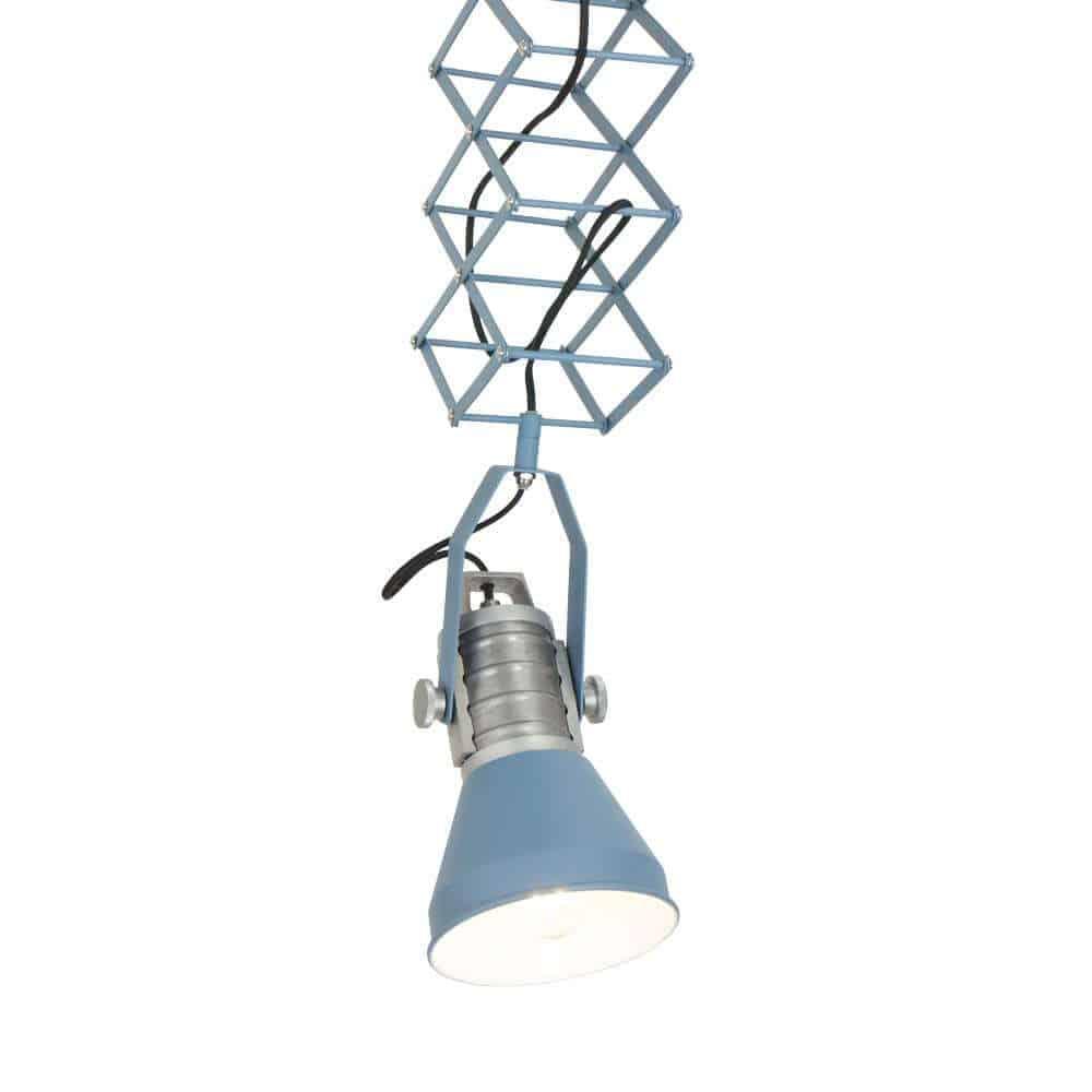 Anne Brusk Scissors Ontzettend originele hanglamp van Anne Lighting, een echte eye catcher in je interieur! | Helemaal naar de door jouw gewenste hoogte in te stellen | Verkrijgbaar in antraciet en blauw | www.homeseeds.nl