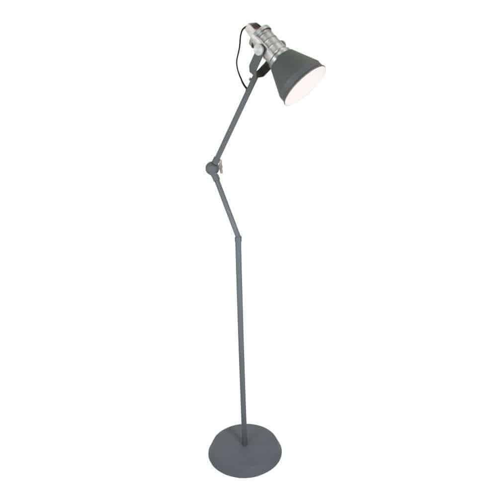 Strakke, stijlvolle vloerlamp van Anne Lighting | www.homeseeds.nl
