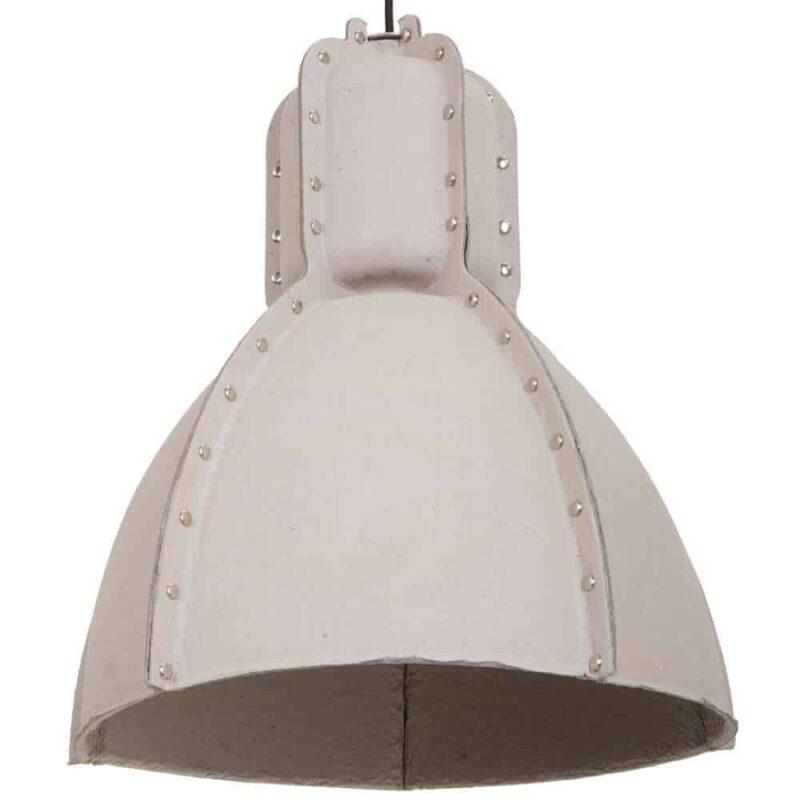 Hanglamp Pulp Fiction Anne Lighting   Hanglamp van karton en popnagels stoer eco
