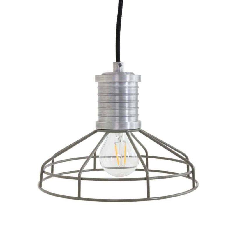 Wire-O hanglamp draadlamp groen - perfect bij een industriele of scandinavische look | Anne Lighting