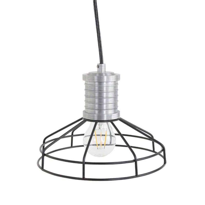 Wire-O leuke hanglamp draad van Anne Lighting   www.homeseeds.nl