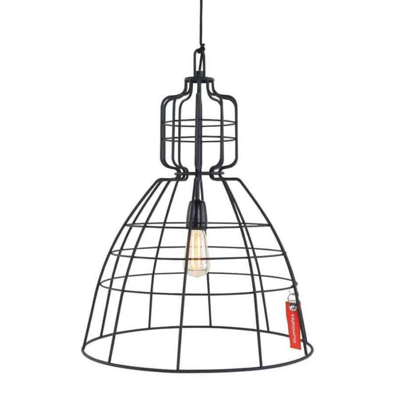 Anne mark III hanglamp   Stoere draadlamp voor in elk interieur   Op zoek naar nieuwe verlichting?