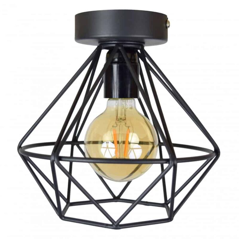 Urban Interiors Wire Plafondlamp | Geometrische lamp van draadstaal | Homeseeds.nl