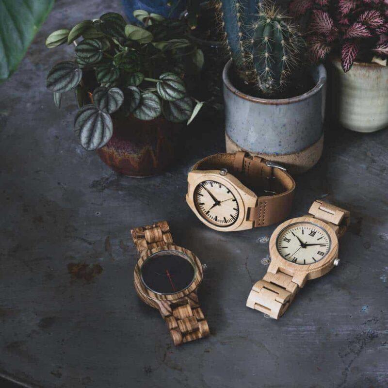 bamboe horloges heren | Homeseeds.nl