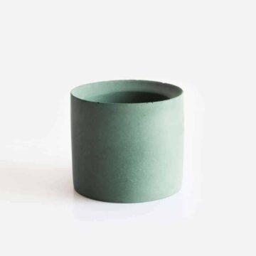 hip betonnen bloempotje en waxinelichthouder van beton