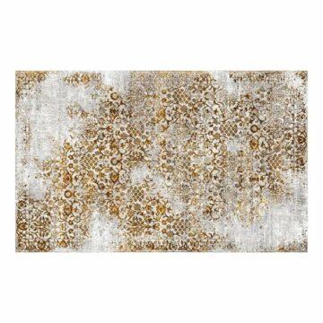 Vloerkleed Donovan Gold verweerd tapijt