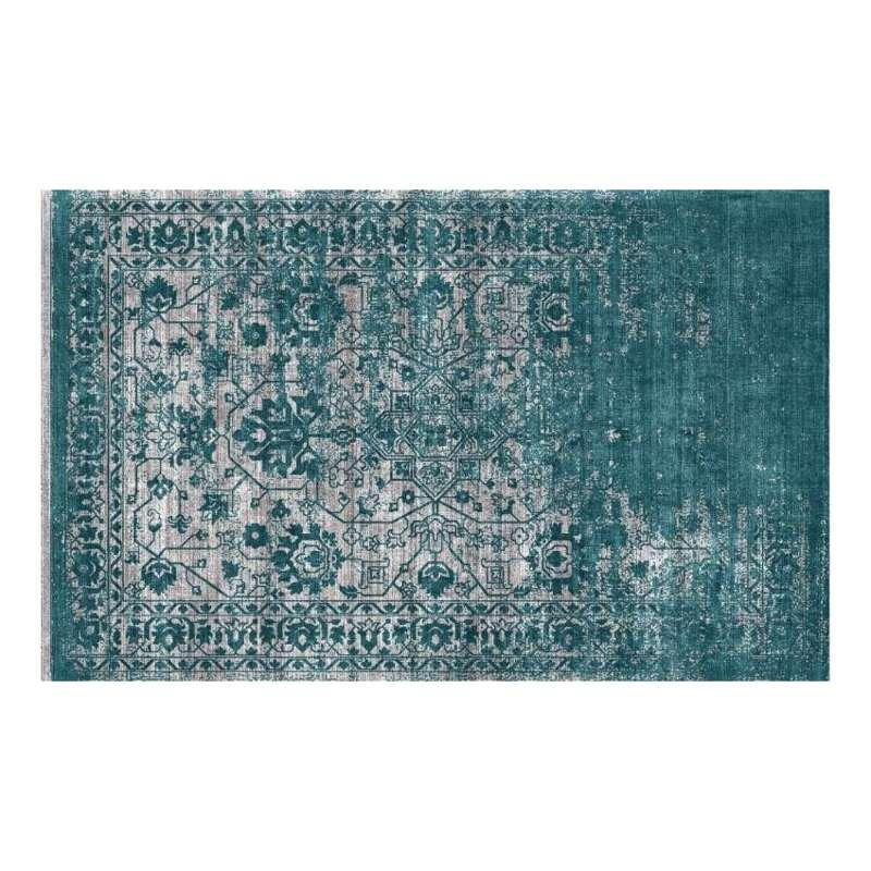petrol vloerkleed teal tapijt donovan homeseeds